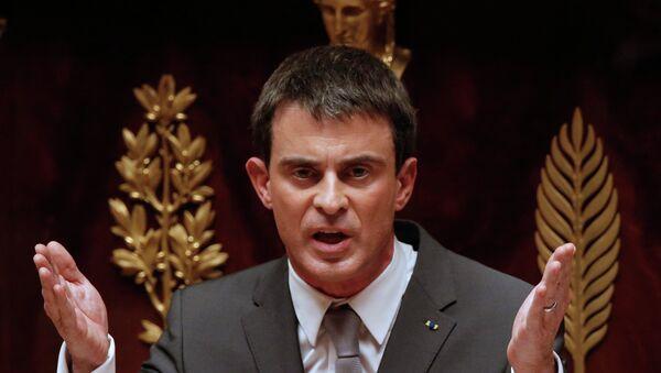 Manuel Valls, primer ministro de Francia - Sputnik Mundo