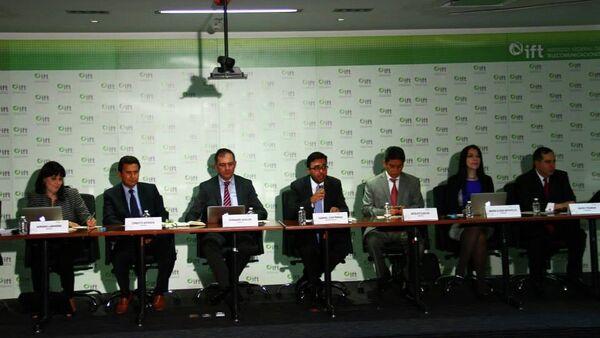Conferencia de prensa sobre el fallo de los ganadores, Grupo Radio Centro y Cadena Tres, para las dos nuevas Cadenas de TV abierta en México. - Sputnik Mundo