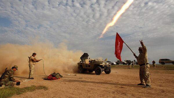 Combates en Irak - Sputnik Mundo