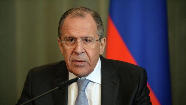 Serguéi Lavror, ministro de Asuntos Exteriores de Rusia - Sputnik Mundo
