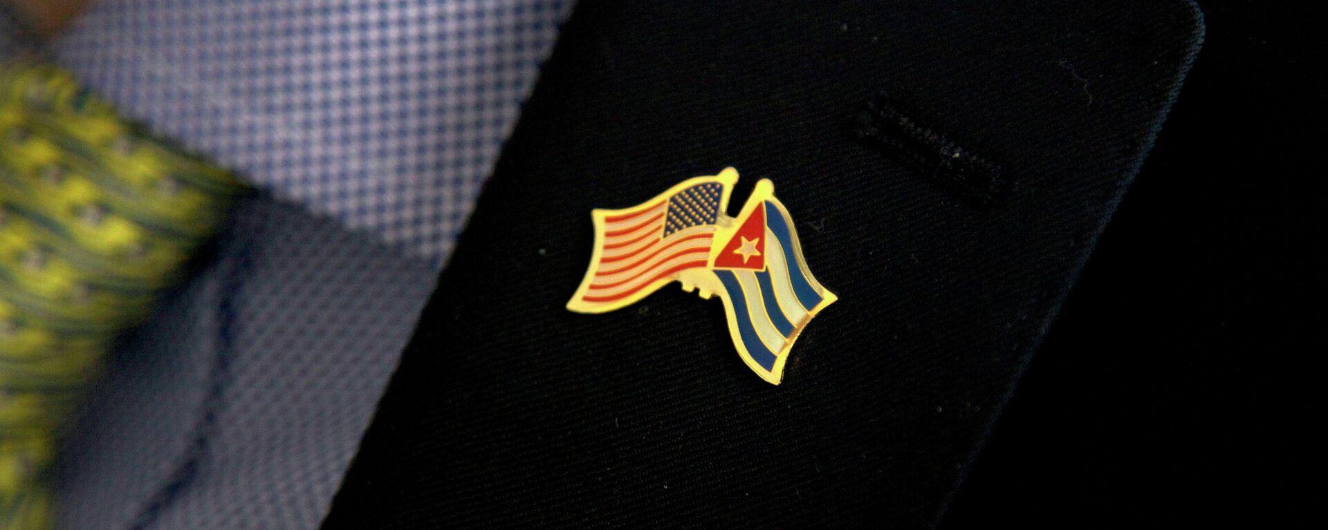 Banderas de EEUU y Cuba - Sputnik Mundo, 1920, 17.03.2021