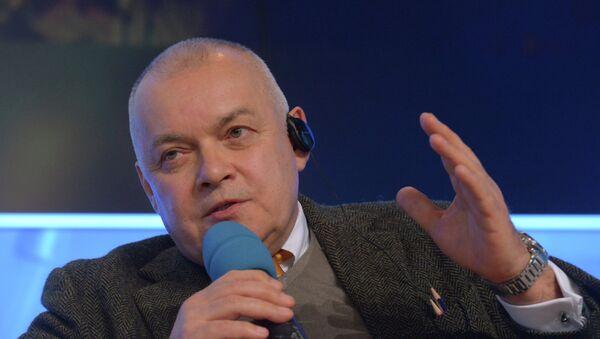 Dmitri Kiseliov, director general de Rossiya Segodnya - Sputnik Mundo