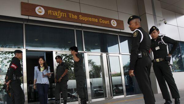 Tribunal Supremo de Tailandia - Sputnik Mundo