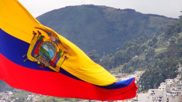 Bandera de Ecuador (archivo) - Sputnik Mundo