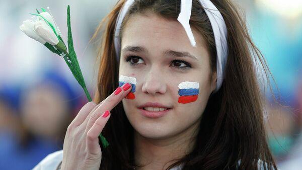 Chica rusa - Sputnik Mundo