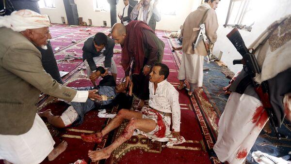 Al menos 40 muertos en una cadena de atentados en la capital de Yemen - Sputnik Mundo