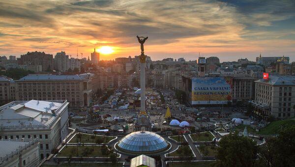 Plaza de la Independencia, Maidán Nezalézhnosti, en Kiev (archivo) - Sputnik Mundo