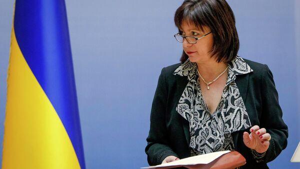 Natalie Jaresko, ministra de Finanzas de Ucrania - Sputnik Mundo