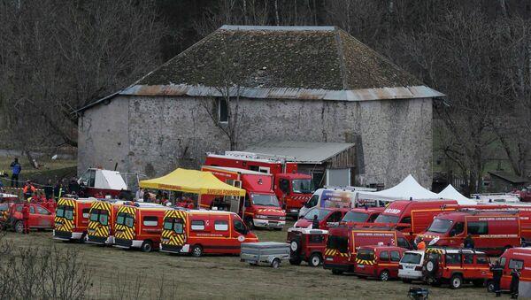 El lugar del accidente del Airbus A320 - Sputnik Mundo