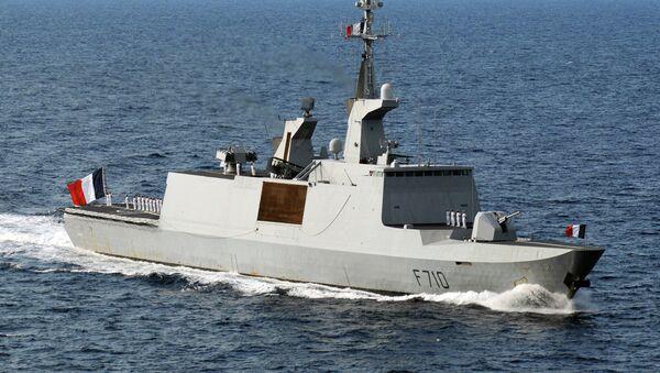 Fragata portamisiles clase La Fayette de la Armada francesa - Sputnik Mundo