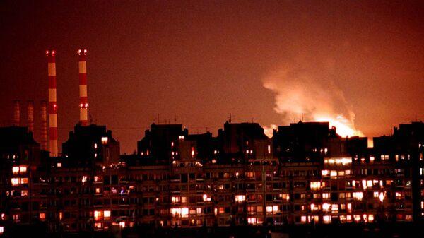 Los primeros bombardeos de la OTAN sobre Yugoslavia - Sputnik Mundo