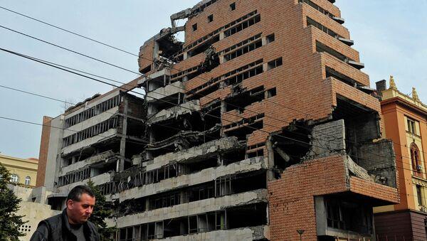 Bombardeo de Belgrado por la OTAN en 1999 - Sputnik Mundo
