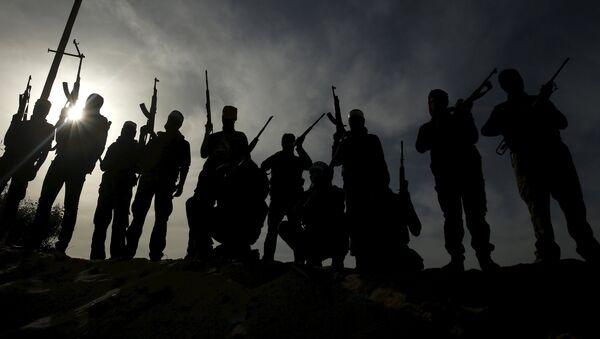 Militantes palestinos (archivo) - Sputnik Mundo