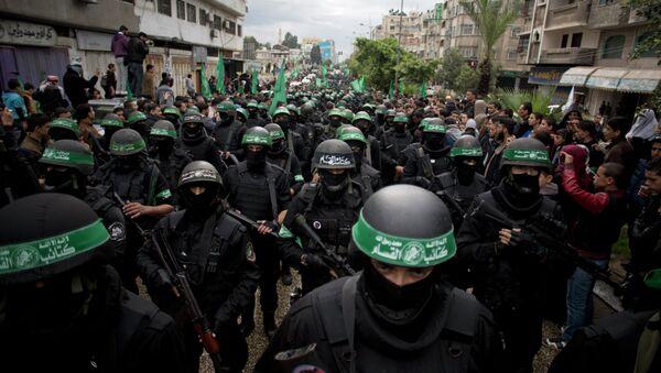Militantes de Hamás - Sputnik Mundo