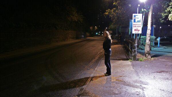 Una prostituta en Ipswich, Reino Unido - Sputnik Mundo