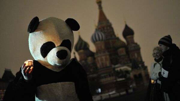 Ежегодная экологическая акция Час Земли - Sputnik Mundo