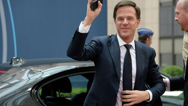 Mark Rutte, primer ministro de Países Bajos - Sputnik Mundo