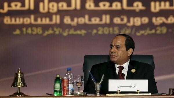 Abdelfatah al Sisi, presidente de Egipto - Sputnik Mundo