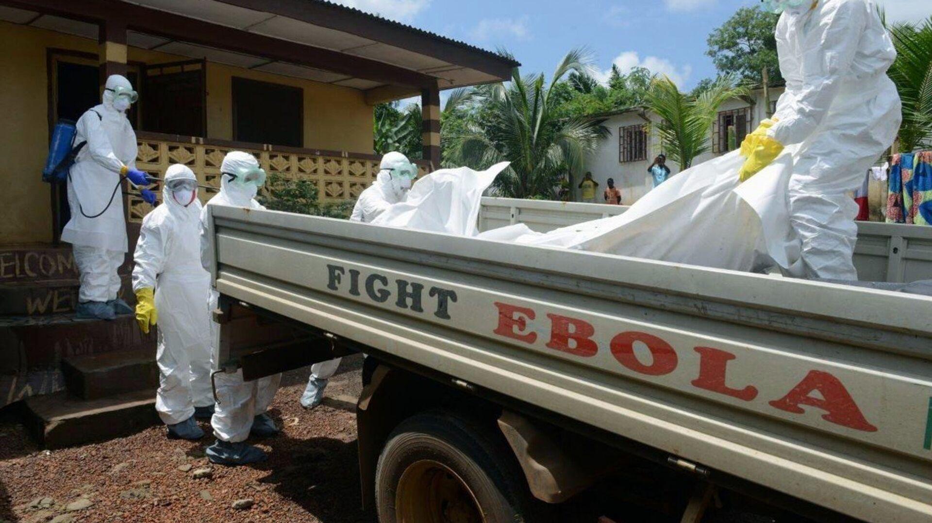Epidemia de ebola en África (archivo) - Sputnik Mundo, 1920, 18.02.2021