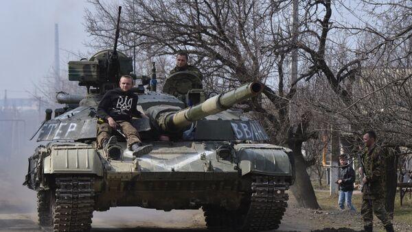 La situación en Lugansk - Sputnik Mundo