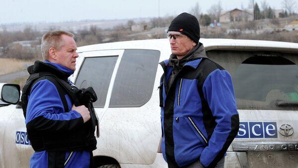 Observadores de la OSCE en Ucrania - Sputnik Mundo