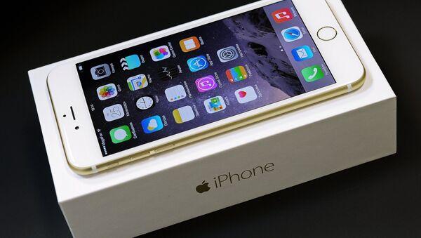 Новый смартфон iPhone 6 и iPhone 6 Plus - Sputnik Mundo