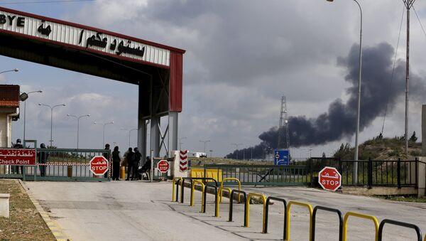 Situación a la frontera sirio-jordana - Sputnik Mundo
