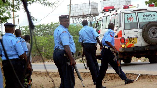 Policía de Kenia (archivo) - Sputnik Mundo