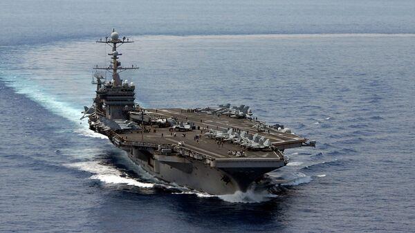 Portaviones estadounidense USS George Washington - Sputnik Mundo