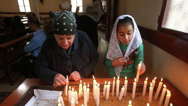 Una iglesia cristiana en el Líbano - Sputnik Mundo