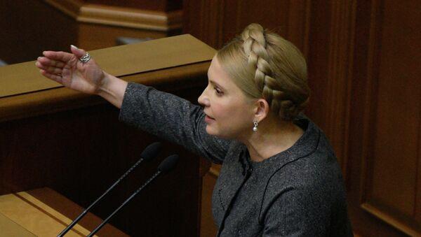 Yulia Timoshenko, ex primera ministra y líder del partido Batkivschina - Sputnik Mundo