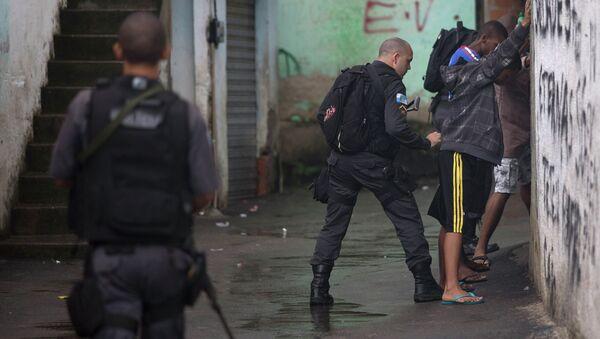 Policías brasileños (archivo) - Sputnik Mundo