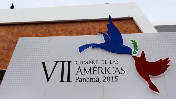 La VII Cumbre de las Américas se estrena en Panamá - Sputnik Mundo