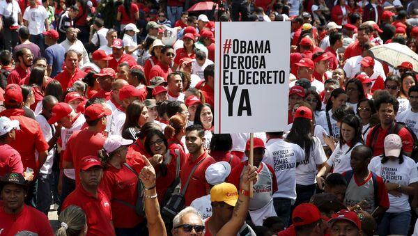 Venezuela reune más de 10 millones de firmas contra decreto de EEUU, informa Parlamento - Sputnik Mundo
