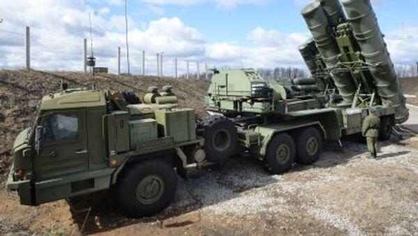 Sistema ruso de defensa antiaérea S-400 Triumf - Sputnik Mundo