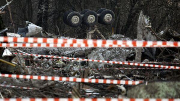 El avión Tu-154 del presidente polaco Lech Kaczynski se estrelló el 10 de abril de 2010 en las afueras de Smolensk - Sputnik Mundo