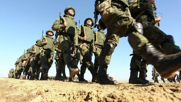 Soldados rusos - Sputnik Mundo