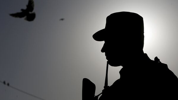 La policía afgana - Sputnik Mundo