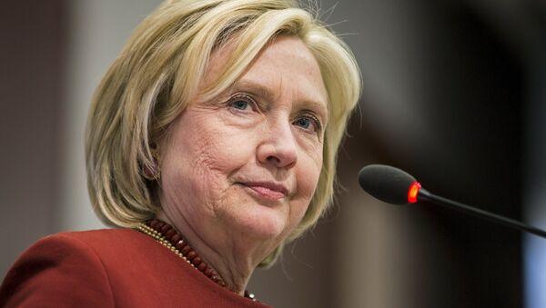 Hillary Clinton, ex secretaria de Estado - Sputnik Mundo