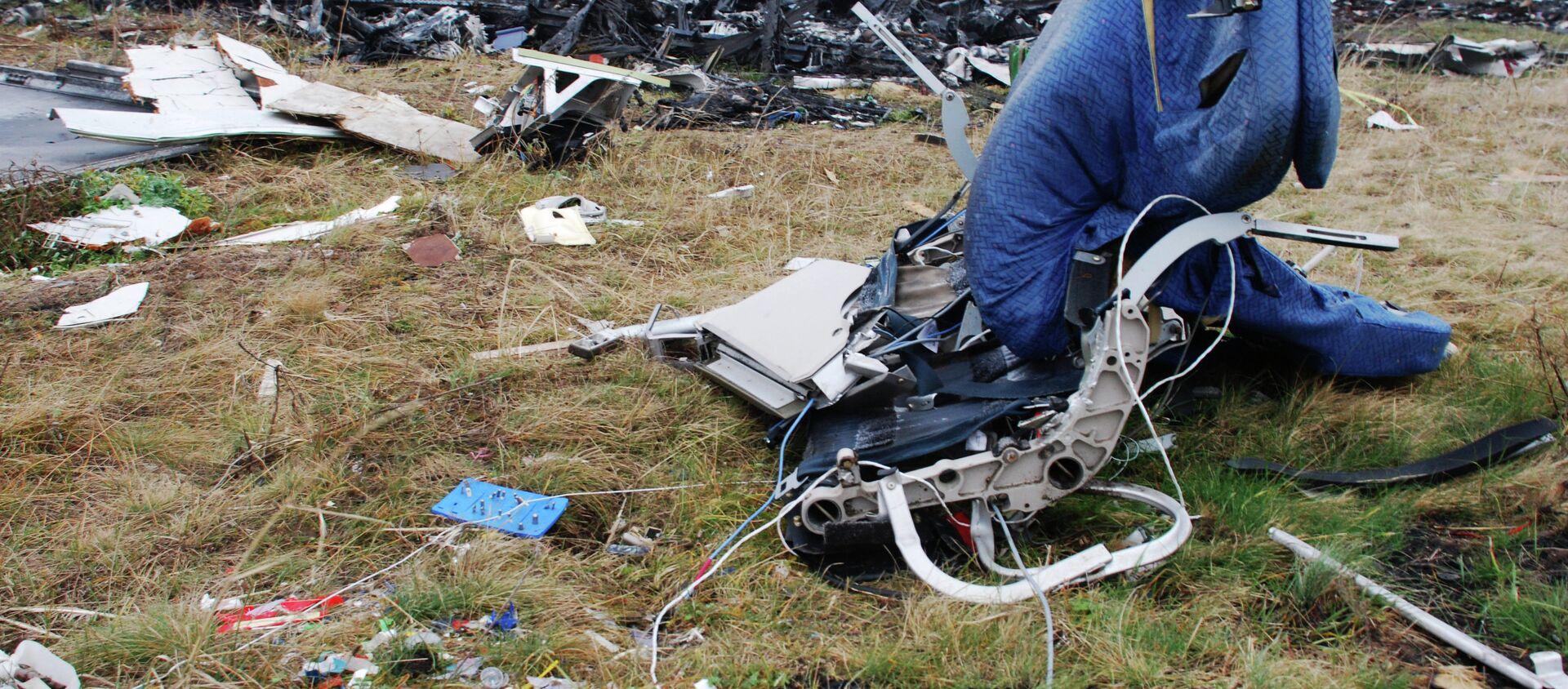 Los restos del avión MH17 derribado en el este de Ucrania - Sputnik Mundo, 1920, 06.06.2018