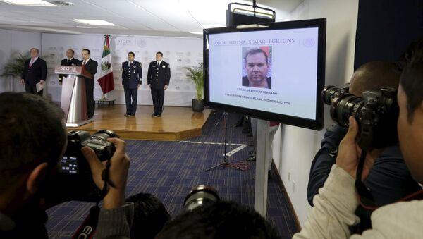 Arrestado en México narcotraficante buscado por EEUU - Sputnik Mundo