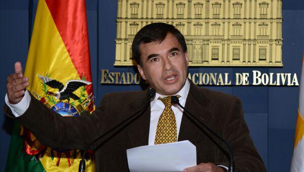 Juan Ramón Quintana, ministro de la Presidencia de Bolivia - Sputnik Mundo