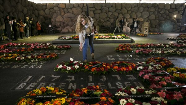 Homenaje a los judíos víctimas del Holocausto - Sputnik Mundo