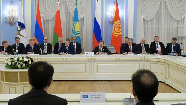 Reunión del Consejo de la UEE (archivo) - Sputnik Mundo