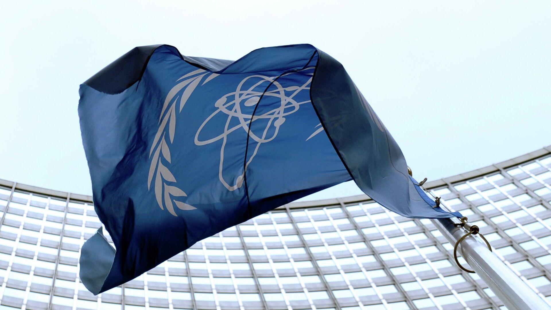 La bandera de la OIEA en Viena - Sputnik Mundo, 1920, 30.09.2021