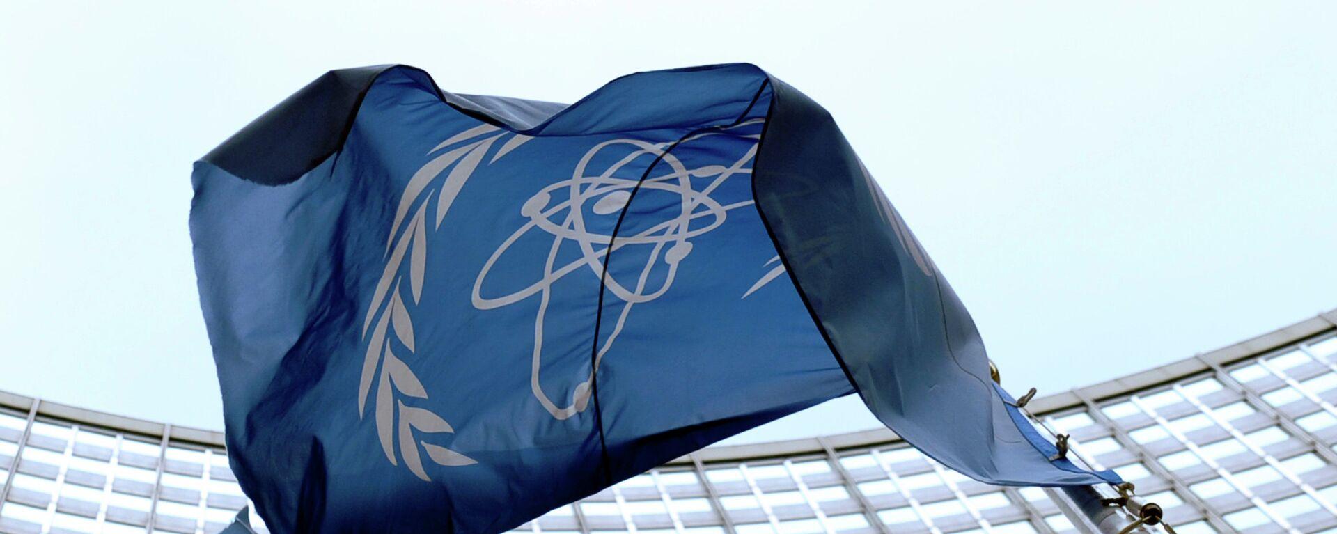La bandera de la OIEA en Viena - Sputnik Mundo, 1920, 26.04.2021