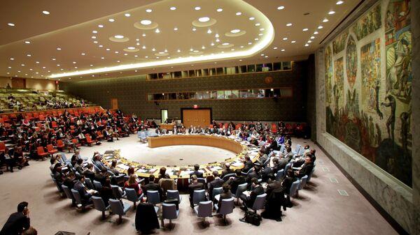 El Consejo de Seguridad de la ONU (archivo) - Sputnik Mundo