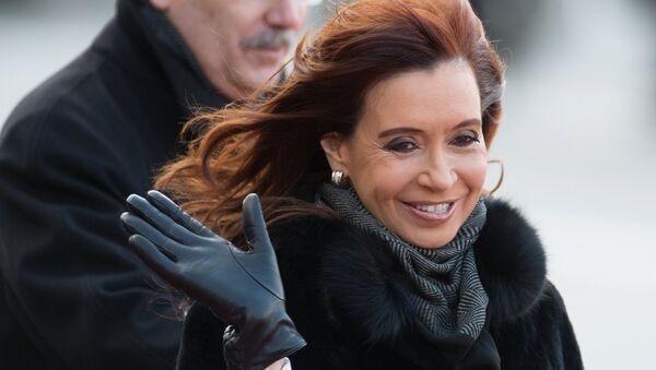 Cristina Kirchner, presidenta de Argentina, durante su visita a Moscú - Sputnik Mundo