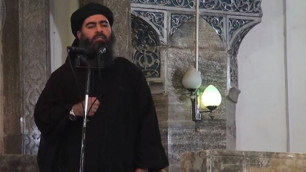 Abu Bakr Bagdadi, líder del grupo terrorista Estado Islámico - Sputnik Mundo