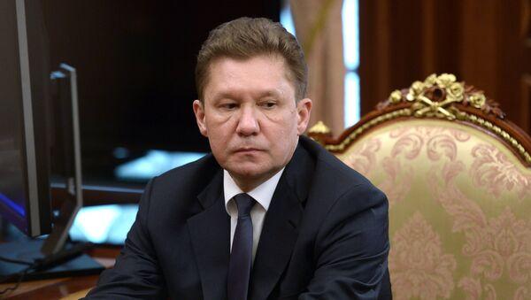 Alexéi Miller, jefe de Gazprom - Sputnik Mundo